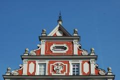 färgrik bavarianbyggnad Royaltyfria Bilder