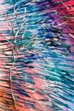 Färgrik bild av trädet vektor illustrationer