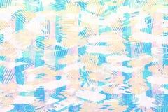 Färgrik blått-, guling- och rosa färgpapperstextur gör sammandrag grunge Royaltyfria Bilder