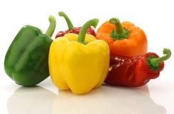 färgrik blandad paprika s för paprika Fotografering för Bildbyråer