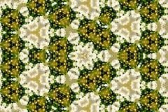 Färgrik blom- kalejdoskopmodell för design och bakgrunder Arkivfoton