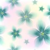 Färgrik blom- sömlös modell vektor illustrationer