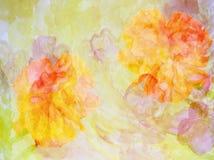 Färgrik blommabakgrund gjorde ‹för †med färgfilter Arkivfoto