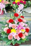 Färgrik blommabukett Royaltyfri Fotografi