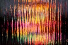 Färgrik blurmålat glass Royaltyfri Fotografi