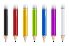 Färgrik blyertspenna Royaltyfria Foton