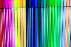 färgrik blyertspenna Royaltyfri Fotografi