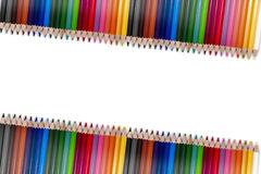 Färgrik blyertspennaram 04 Arkivbilder