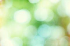 Färgrik bokehbakgrund med ljusa cirklar Royaltyfria Bilder