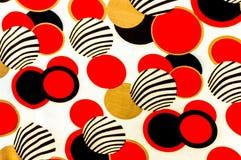 Färgrik bollmodell. För konsttextur- eller rengöringsdukdesign och backgrou Royaltyfri Bild