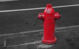 färgrik brandpost Royaltyfri Bild