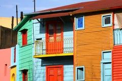 färgrik building2 arkivfoto