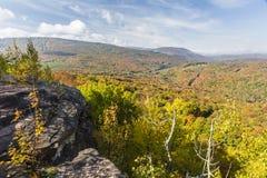 Färgrik Catskills synvinkel arkivfoto