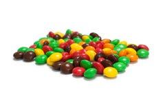 Färgrik choklad - täckt godis Royaltyfria Bilder