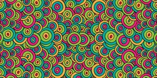 färgrik cirkelbakgrund Arkivbilder