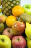 Färgrik closeup för nya frukter Royaltyfri Foto