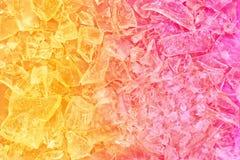Färgrik crystal bachground royaltyfri bild