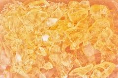 Färgrik crystal bachground arkivfoto