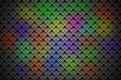 Färgrik crystal bakgrund Arkivbild