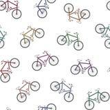 Färgrik cykelbakgrund Arkivbilder