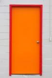 färgrik dörröppning Arkivbild