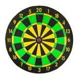 Färgrik dartboard arkivbilder
