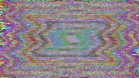 Färgrik dekorativ nostalgisk moderiktig holographic bakgrund stock video