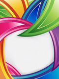 färgrik design royaltyfri illustrationer