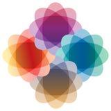 Färgrik design Royaltyfri Fotografi