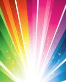 färgrik design Arkivbilder