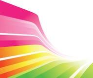 färgrik design Arkivfoto