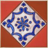 Färgrik design för keramisk tegelplatta Arkivfoton