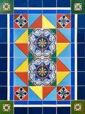 Färgrik design för keramisk tegelplatta Royaltyfri Fotografi