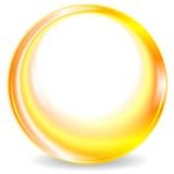 Färgrik design för logo för gulingrundacirkel vektor illustrationer