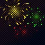 färgrik designmosaik Arkivbild