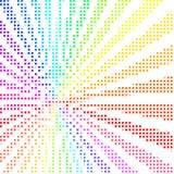 färgrik designmosaik Arkivfoto