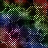 färgrik designmosaik Royaltyfria Bilder