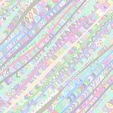 Färgrik diagonal sömlös modell Arkivbilder