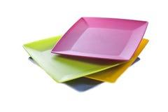 färgrik disk Royaltyfri Foto