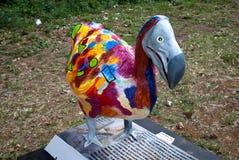 färgrik dodo Arkivbild
