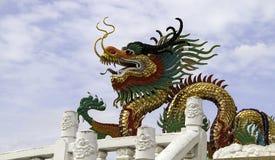 färgrik drake Royaltyfri Foto