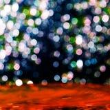 Färgrik elegant abstrakt bakgrund med bokeh tänder Arkivfoton