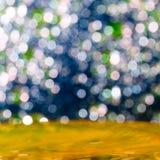 Färgrik elegant abstrakt bakgrund med bokeh tänder Royaltyfri Fotografi
