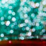 Färgrik elegant abstrakt bakgrund med bokeh tänder Royaltyfria Foton
