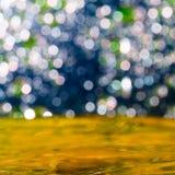 Färgrik elegant abstrakt bakgrund med bokeh tänder Royaltyfri Foto