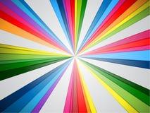 färgrik färgstänk stock illustrationer
