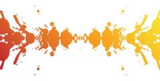 färgrik färgstänk för baner Royaltyfria Foton