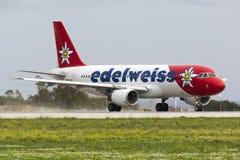 Färgrik A320 för avvikelse Royaltyfri Foto