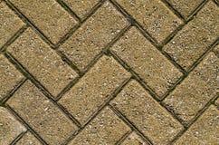 Färgrik förberedande tjock skiva, trottoartegelplattabakgrund? Vägtexturmosaik Athens Grekland fotografering för bildbyråer
