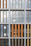 Färgrik facade fotografering för bildbyråer